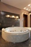 Exclusive round bath Stock Photography