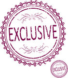 Exclusive rubber stamp in grunge style Stock Images