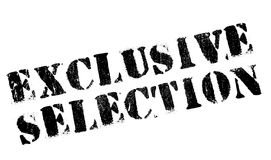 Exclusive selection stamp Stock Photography