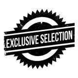 Exclusive selection stamp Royalty Free Stock Photography