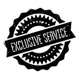 Exclusive service stamp. Grunge design with dust scratches. Effects can be easily removed for a clean, crisp look. Color is easily changed Royalty Free Stock Photos