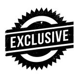 Exclusive stamp rubber grunge Royalty Free Stock Photo