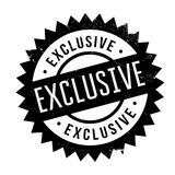 Exclusive stamp rubber grunge Royalty Free Stock Images