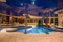 Exclusive swimming pool Stock Images