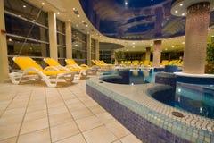 Exclusive swimming pool Stock Photo
