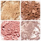 Exclusive textures of cosmetic products Stock Photo