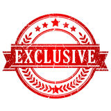 Exclusive vector stamp royalty free illustration