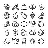 Fruits and Vegetables Pack royalty free illustration