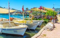 Excursão à baía de Kekova, Ucagiz, Turquia fotografia de stock royalty free
