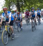 Excursão 2008 do coração de Nova Escócia por Bicicleta Imagens de Stock Royalty Free