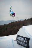 Excursão 2011 do estilo livre de Nokia em Valca, Slovakia Imagem de Stock Royalty Free