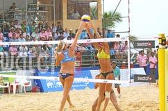 Excursão 2011 do mundo do SWATCH FIVB do voleibol da praia Imagens de Stock