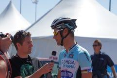 Excursão 2012 de Tom Boonen Amgen de Califórnia   Imagens de Stock