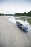 Excursão da canoa o Danúbio Fotografia de Stock