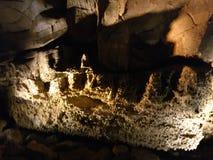 Excursão da caverna de Kentucky EUA das cavernas do Mammoth Imagem de Stock Royalty Free