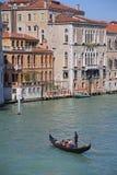 Excursão da gôndola em Veneza Itália Fotos de Stock
