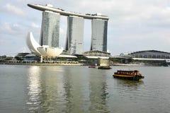 Excursão da paisagem da cidade de Singapura Imagens de Stock Royalty Free