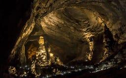 Excursão de exploração da natureza da gruta de CacahuamilpaImagens de Stock Royalty Free