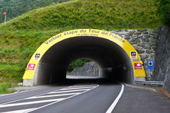 Excursão De France 2009, Verbier Fotos de Stock Royalty Free