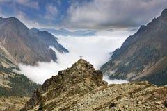 A excursão de Lausfer, italie Fotos de Stock