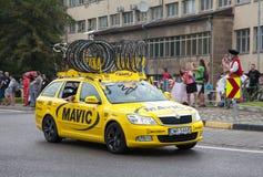 Excursão de Pologne 2014 da raça de ciclismo Foto de Stock