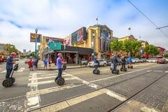 Excursão de Segway de San Francisco Fotografia de Stock