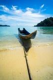 Excursão do barco com opinião do mar Foto de Stock