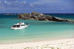 Excursão do BIOS - reserva natural da ilha dos tanoeiros, Bermuda Fotografia de Stock Royalty Free