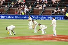 Excursão do críquete de Austrália a África do Sul fevereiro 2009 Foto de Stock Royalty Free