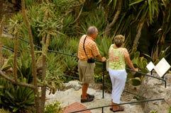 Excursão do jardim Fotografia de Stock Royalty Free