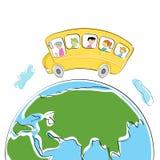 Excursão do mundo ilustração royalty free
