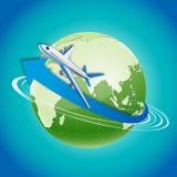Excursão do mundo ilustração stock