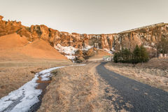 Excursão dourada Islândia do círculo: cachoeira Imagens de Stock