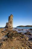 Excursão Genoese de Santa Maria em Cap Corse em Córsega Foto de Stock Royalty Free