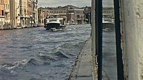 Excurs?o do barco de Veneza vídeos de arquivo