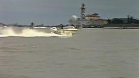 Excurs?o do barco de Veneza Murano vídeos de arquivo