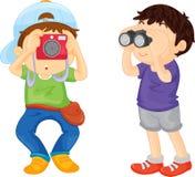 Excursión de la escuela Fotografía de archivo libre de regalías