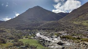 Excursion through the Andes Stock Photography