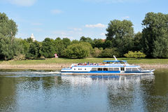 Excursion boat Stock Photos
