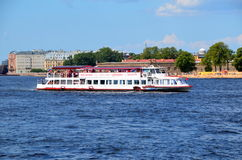 Excursion boat Vasiliy Royalty Free Stock Images