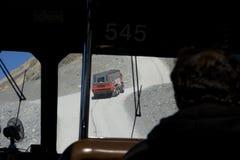 Excursion d'icefield de Colombie Photos stock