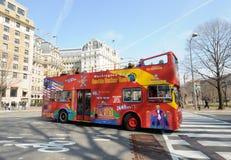 Excursion de bus de Washington DC Photographie stock libre de droits