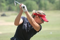 Excursion de golf d'Annika Sorenstam LPGA, Stockbridge, 2006 Photos stock