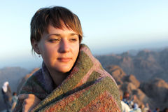 Excursion de mont Sinaï photo libre de droits