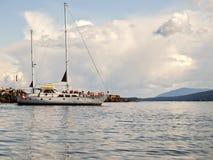 Excursion de navigation d'éco-tourisme Photo stock