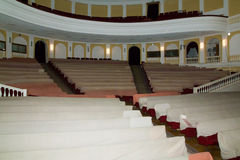 Excursion in Drama theatre in Kirov city Royalty Free Stock Photo