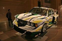 Excursion du monde de véhicule d'art de BMW à New York image stock