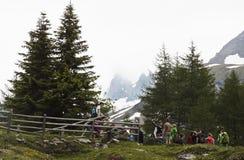 Excursion en vallée de Koednitz, Autriche Image stock