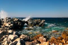 Excursion Kos Island. Quod high Kefalos Island Kastry Royalty Free Stock Photos