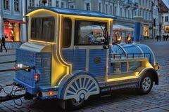 Excursion locomotive Tallinn Royalty Free Stock Photos